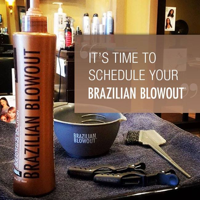 Picture of Brazilian Blowout, San Diego, CA.